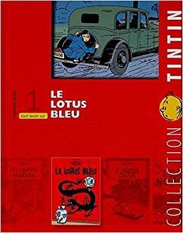 couverture, jaquette Tintin (Les aventures de) 1  - Le Lotus BleuIntégrale (Editions Moulinsart)