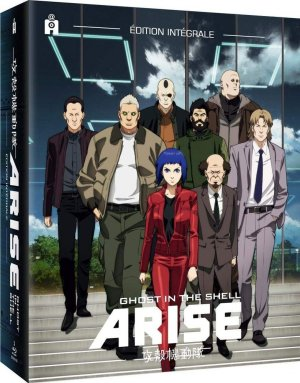 couverture, jaquette Ghost In The Shell : Arise - Intégrale 5 Films
