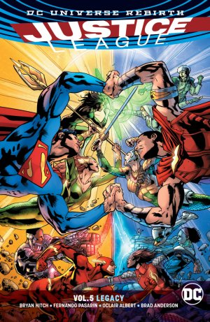 Justice League # 5 TPB softcover (souple) - Issues V3