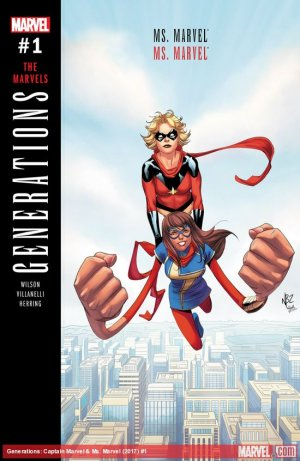 Generations - Captain Marvel And Ms. Marvel # 1 Issue (2017)