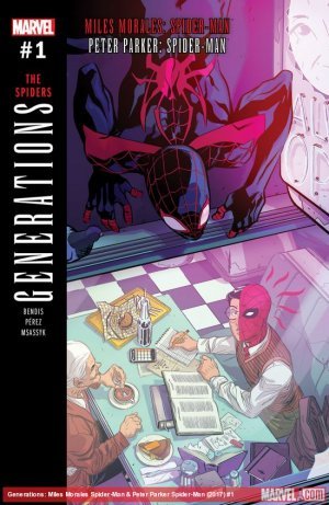 Generations - Miles Morales Spider-Man And Peter Parker Spider-Man # 1 Issue (2017)