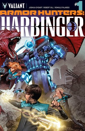 Armor Hunters - Harbinger édition Issues