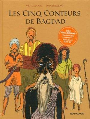 Les cinq conteurs de Bagdad édition réédition 2017
