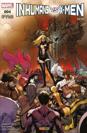 Inhumans Vs. X-Men T.4