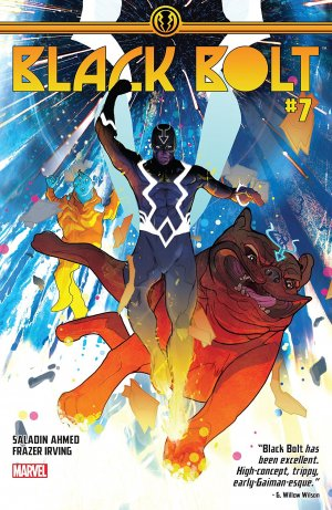 Black Bolt # 7 Issues (2017 - 2018)