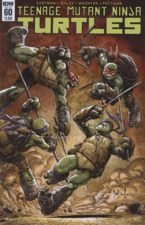 Les Tortues Ninja # 60 Issues V5 (2011 - ongoing)