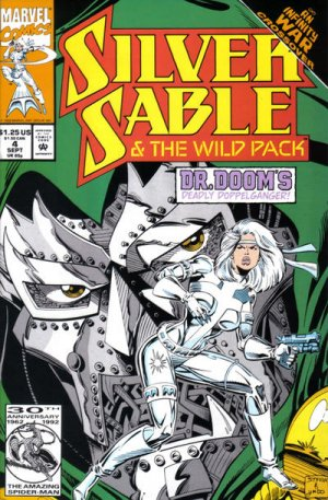 Silver Sable and the Wild Pack édition Issues V1 (1992 - 1995)
