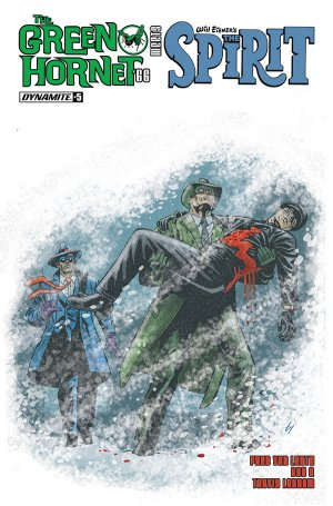 The Green Hornet '66 meets The Spirit # 5 Issues (2017)