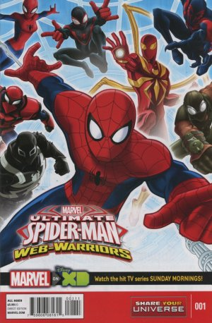 Marvel Universe Ultimate Spider-Man - Web Warriors édition Issues (2015)