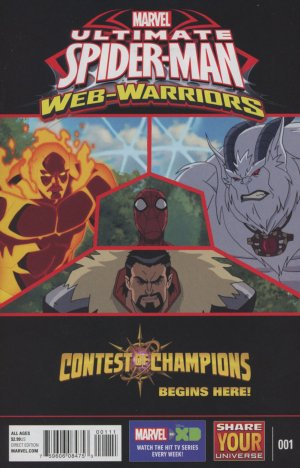 Marvel Universe Ultimate Spider-Man - Contest of Champions édition Issues (2016)