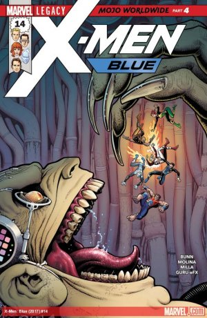 X-Men - Blue # 14 Issues (2017 - 2018)