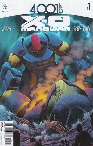 4001 A.D. - X-O Manowar édition Issues