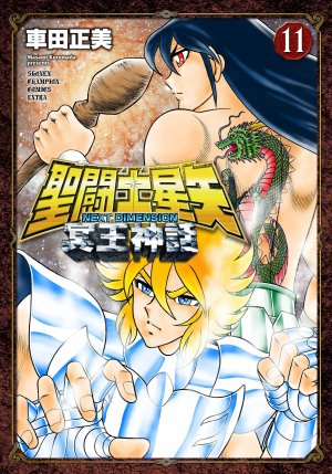 couverture, jaquette Saint Seiya - Next Dimension 11  (Akita shoten)