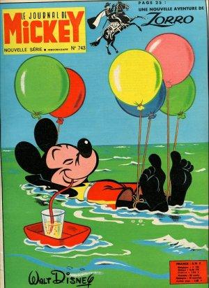 Le journal de Mickey 743