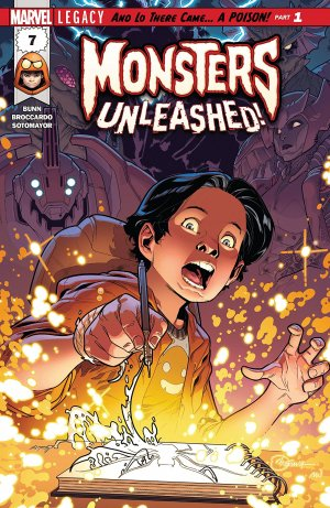 Monsters Unleashed # 7 Issues V3 (2017 - 2018)