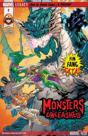 Monsters Unleashed # 8 Issues V3 (2017 - 2018)