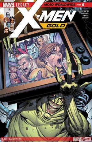 X-Men - Gold # 15 Issues V2 (2017 - 2018)