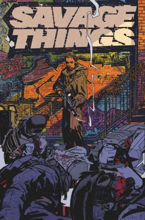 Savage Things édition TPB softcover (souple)