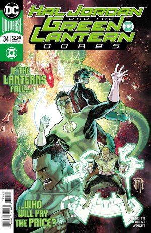 Green Lantern Rebirth # 34 Issues (2016-2018)