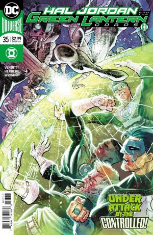 Green Lantern Rebirth # 35 Issues (2016-2018)