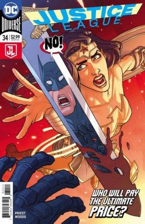 Justice League # 34