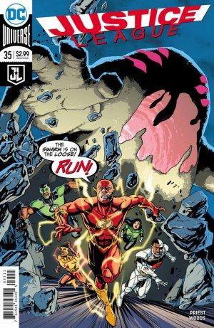 Justice League # 35