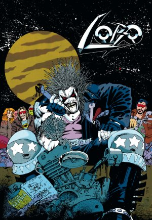 Lobo by Keith Giffen and Alan Grant édition TPB softcover (souple)