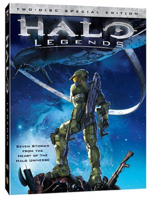 Halo Legends édition COLLECTOR 2 DVD