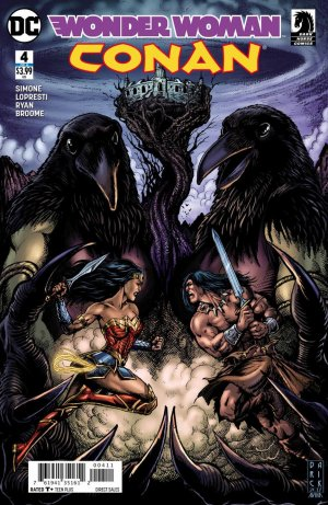 Wonder Woman / Conan # 4 Issues