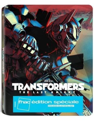 Transformers: The Last Knight édition Steelbook FNAC