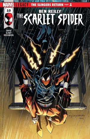 Ben Reilly - Scarlet Spider # 10