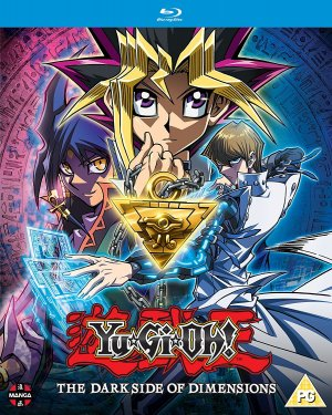 Yu-Gi-Oh! The Dark Side of Dimensions édition Blu-ray