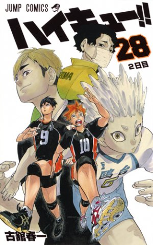 Haikyû !! Les as du volley # 28