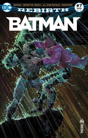 Batman Rebirth # 7