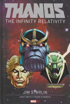 Thanos - La relativité de l'infini # 1 TPB hardcover (cartonnée)