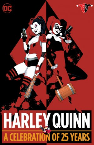 Harley Quinn - A Celebration of 25 Years édition TPB hardcover (cartonnée)