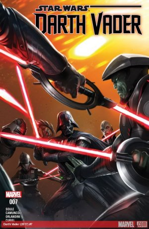 Darth Vader # 7 Issues V2 (2017 - 2018)