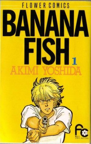 couverture, jaquette Banana Fish 1  (Shogakukan)