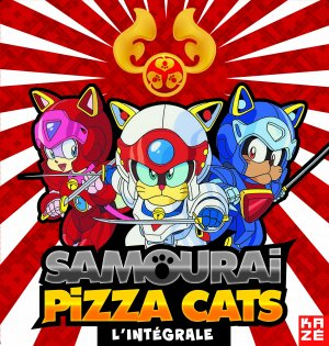 Samouraï Pizza Cats édition Collector limitée