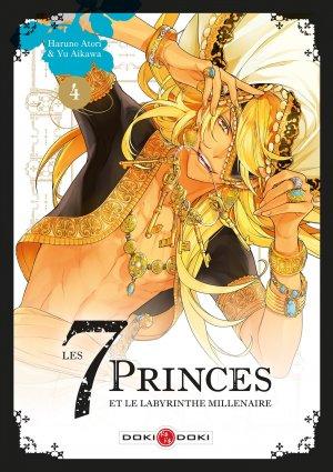 Les 7 princes et le labyrinthe millénaire 4 Simple