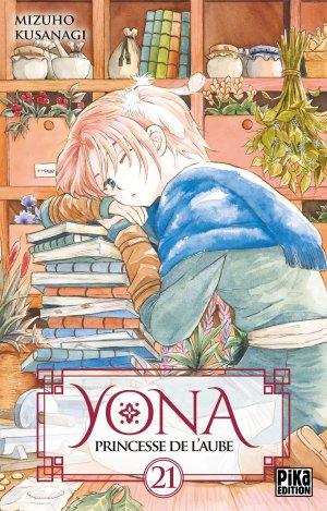 couverture, jaquette Yona, Princesse de l'aube 21  (Pika)