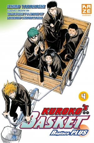 couverture, jaquette Kuroko's Basket Replace PLUS 4  (kazé manga) Manga