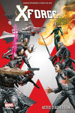 X-Force édition TPB HC - Marvel Deluxe - Issues V4 (2017)