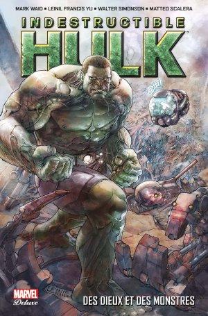 Indestructible Hulk édition TPB Hardcover (cartonnée) - Marvel Deluxe