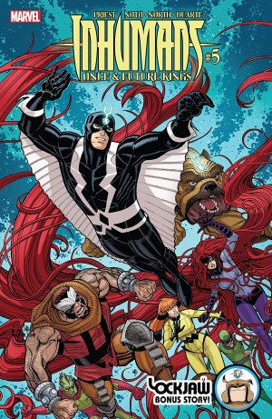 Inhumans - Once And Future Kings # 5 Issues (2017)