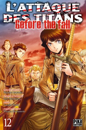 L'Attaque des Titans - Before the Fall # 12