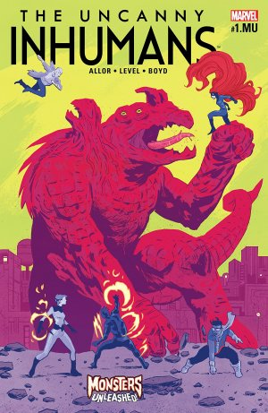 The Uncanny Inhumans # 1.1 Issues V1 (2015 - 2017)