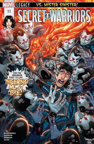 Secret Warriors # 11 Issues V2 (2017 - 2018)
