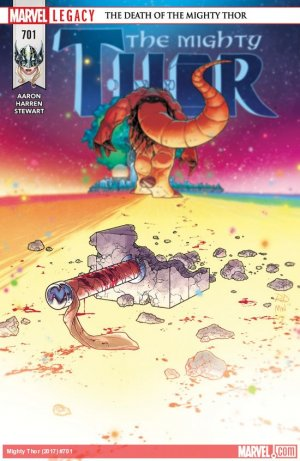 The Mighty Thor # 701 Issues V2 (2015 - 2018)