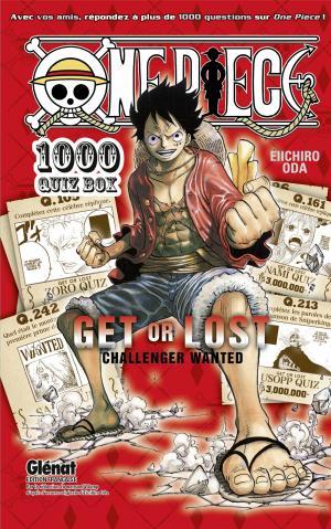 One Piece 500 QUIZ BOOK édition Coffret intégrale